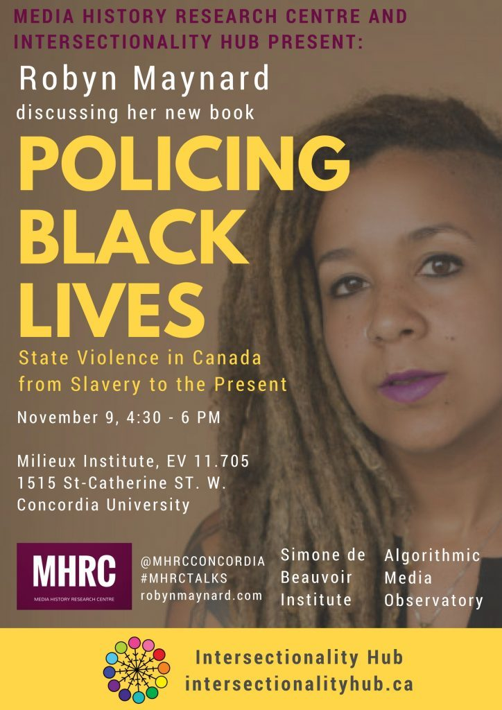 November 9 Event: Robyn Maynard