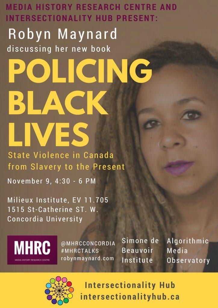 Robyn Maynard poster