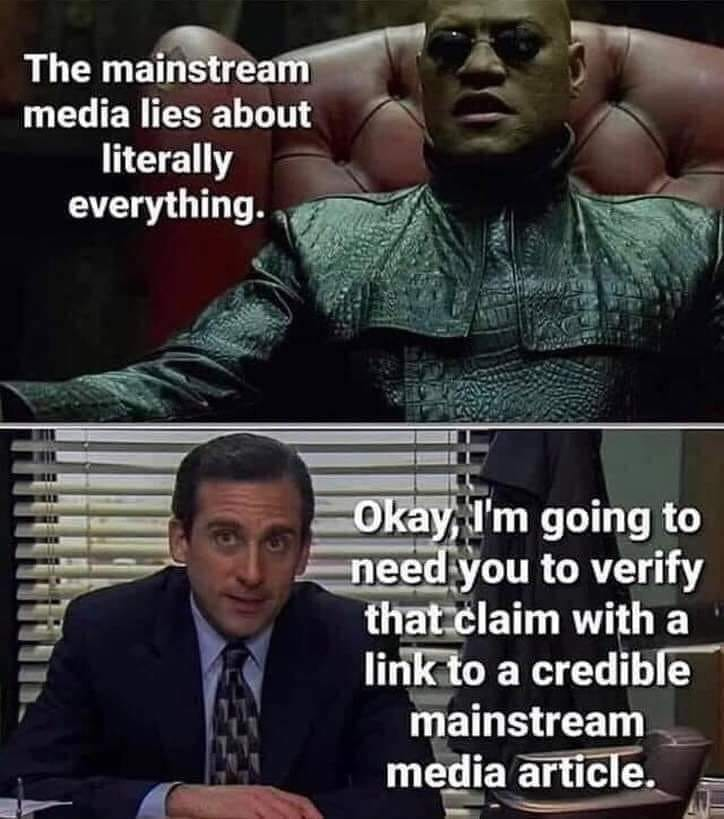 "Two-panel meme with images from the film ""Matrix"" and TV show ""The Office"""